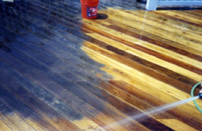 Oxygen Bleach And Your Deck