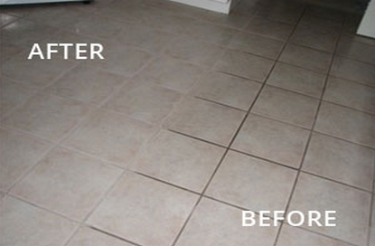 Oxygen Bleach For Grout - Bleaching grout floor tiles
